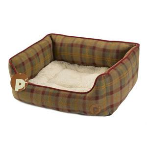 Country Check Square Bed (Small)