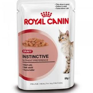 Royal Canin Instinctive in Gravy Pouches x 12