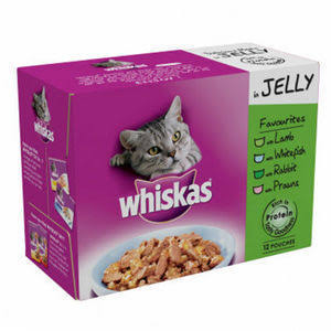 Whiskas in Jelly Favourites Pouches x 12