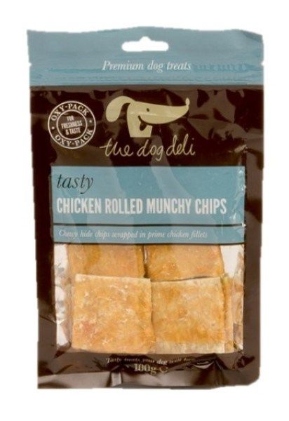Chicken Rolled Munchy Chips 100g