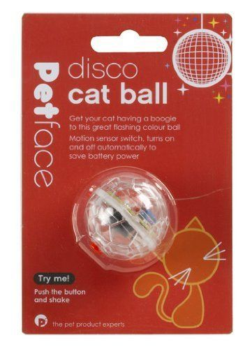 Disco Cat Ball