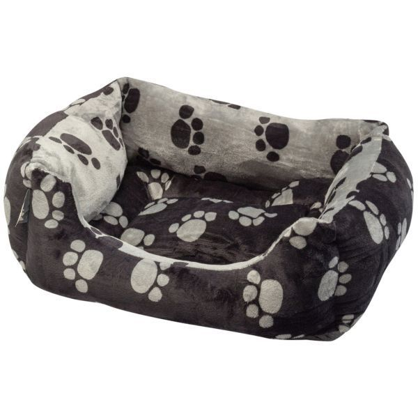 Paws Plush Square Bed Reversible (Small)