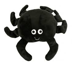 Super Tough Rubber & Plush Izzy Spider